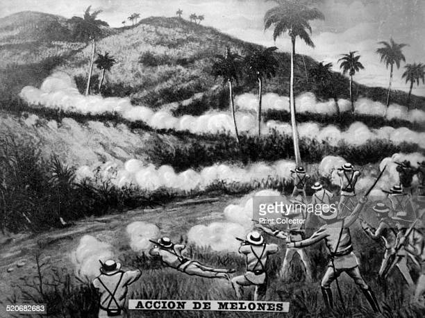 The battle of Melons General Calixto Garcia defeated the Spanish General Esponda who had 670 at the 'water Eye of the Melons' jurisdiction of Holguin...