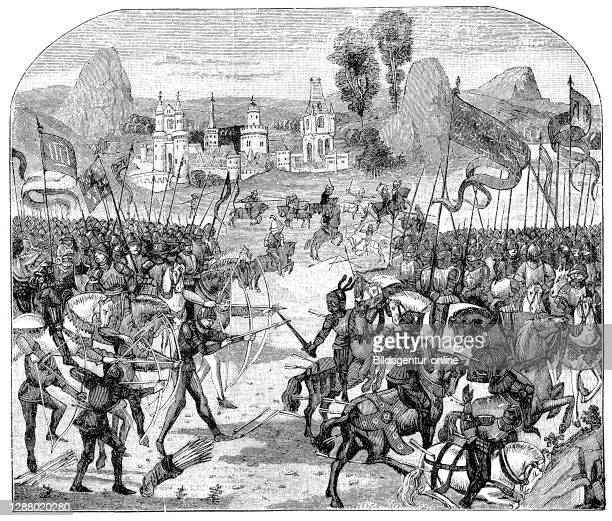The Battle of Poitiers on 19 September 1356, Battle of Maupertui, was an event of the Hundred Years' War, during which the French King John II was...