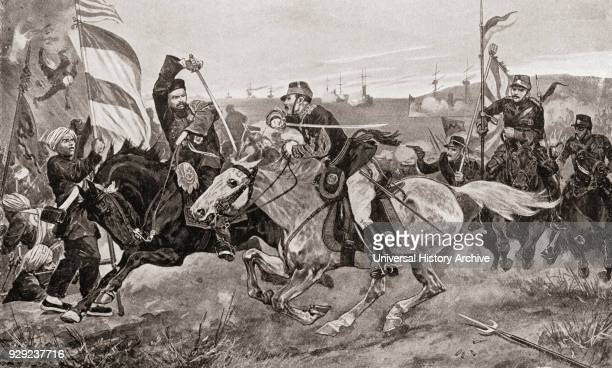The Battle of Pyongyang the second major land battle of the First SinoJapanese War 15 September 1894 in Pyongyang Korea between the forces of Meiji...