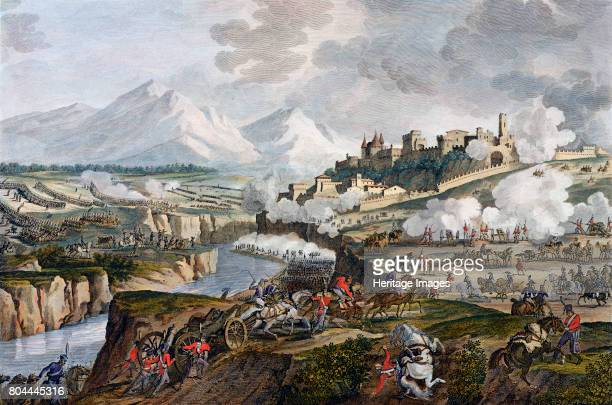 The Battle of Rovereto Italy 18 Fructidor Year 4 The French under Napoleon defeated the Austrians at Rovereto a battle of the French Revolutionary...