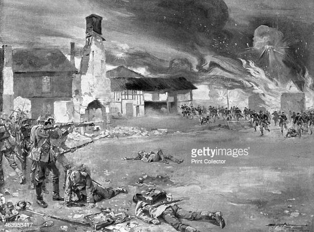 'The Battle of Sommesous' The village of Sommesous changed hands four times between the Germans and French during the Battle of the Marne in...
