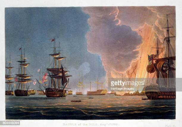 The Battle of the Nile 1st August 1798 The British fleet under Nelson destroyed the French fleet in Aboukir Bay in a battle fought at night From J...