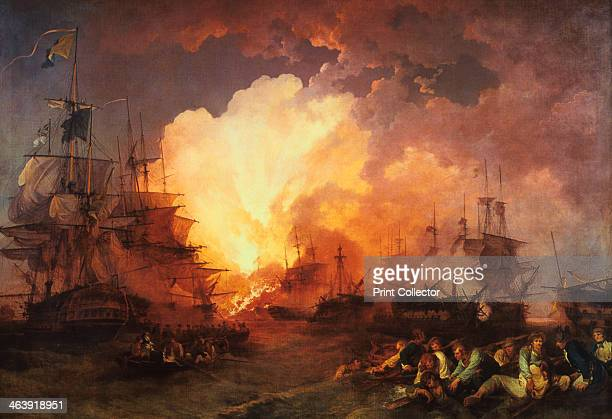 'The Battle of the Nile' August 1798 The battle was fought at night in the Abu Qir Bay near Alexandria Admiral Lord Nelson found the French fleet at...