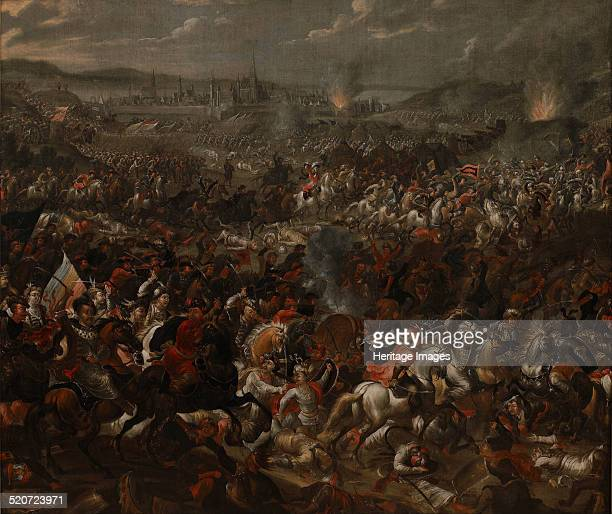 The Battle of Vienna on 12 September 1683 Found in the collection of Wilanów Palace Museum