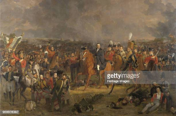The Battle of Waterloo 1824 Found in the Collection of Rijksmuseum Amsterdam