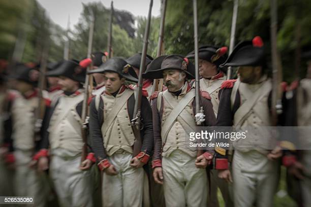 The Battle of Waterloo was reenacted this weekend 22 23 June 2013 in Waterloo Belgium by a few hundred actors in the fields near Waterloo where...