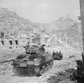 The battles of monte cassino january may 1944 a sherman tank and jeep picture id154446855?s=170x170