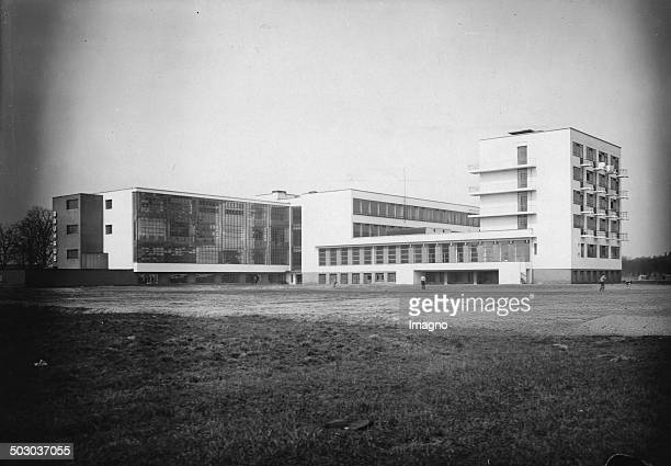 The Bauhaus in Dessau About 1928 Photograph