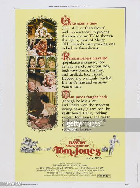 The Bawdy Adventures Of Tom Jones poster US poster gunpoint from left Nicky Henson Joan Collins 1976