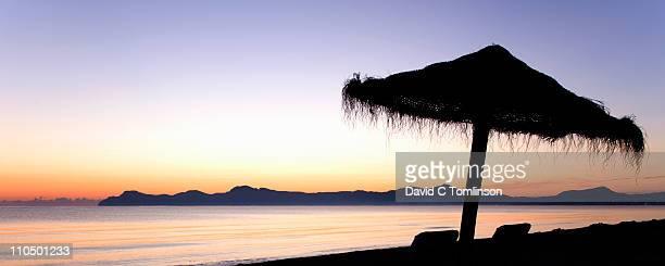 The Bay of Alcudia at dawn, Mallorca
