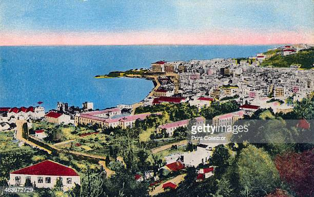 The Bay of Algiers Algiers Algeria early 20th century