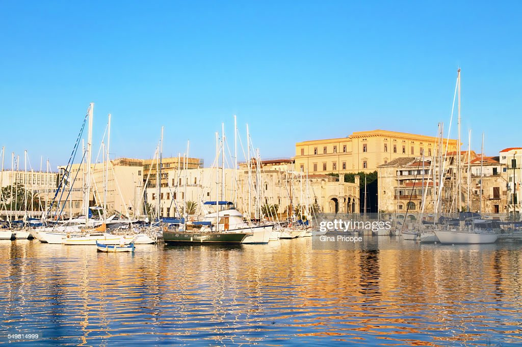 The Bay of Palermo, Sicily Italy : Stock Photo
