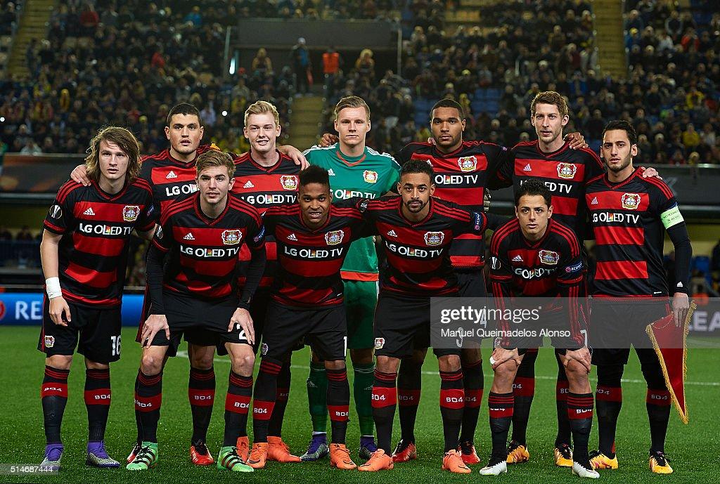 Villarreal CF v Bayer Leverkusen - UEFA Europa League Round of 16: First Leg : News Photo