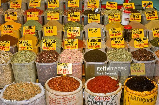 The Bazar in Istanbul at Bosporus a place to find all the spices one needs