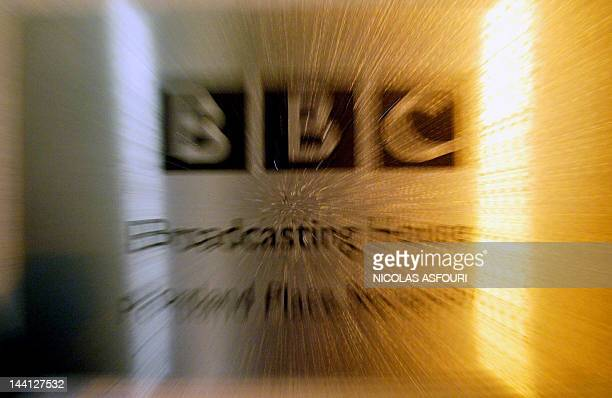 The BBC logo at Portland Place is shown after the release of the Hutton Report lead to the resignation of BBC Chairman Gavyn Davies in London 28...