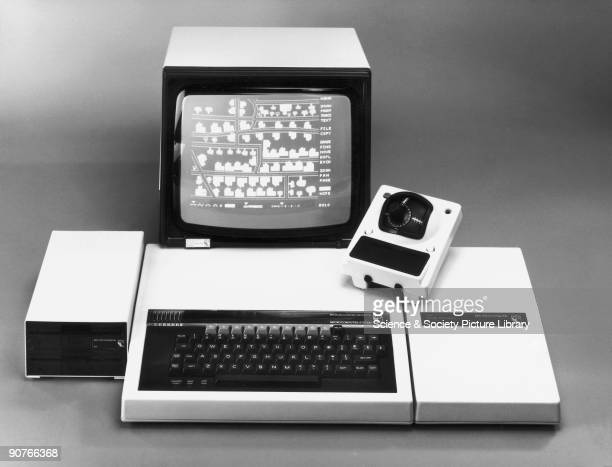 The BBC Micro computer with second processor disk drive and Bitstik The Acorn Bitstik System professional graphics on the BBC Micro