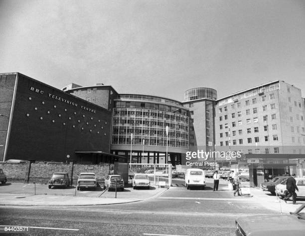 The BBC Television Centre in west London 1980