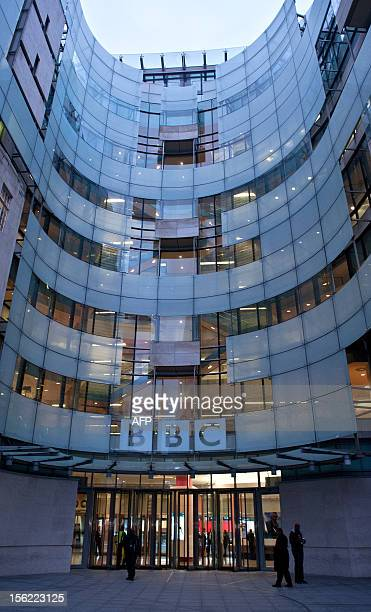 The BBC's offices at New Broadcasting House are pictured in central London on November 12 2012 The BBC's director of news Helen Boaden and her deputy...