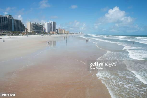 The beach at Daytona Beach, Florida, United States of America, North America