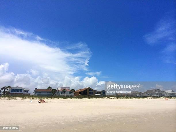 The beach at Jackssonville Beach, Florida