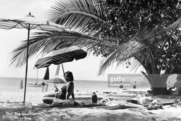 The beach at Montego Bay Jamaica