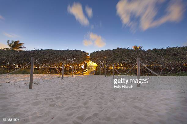 the beach at night - jupiter florida stock pictures, royalty-free photos & images