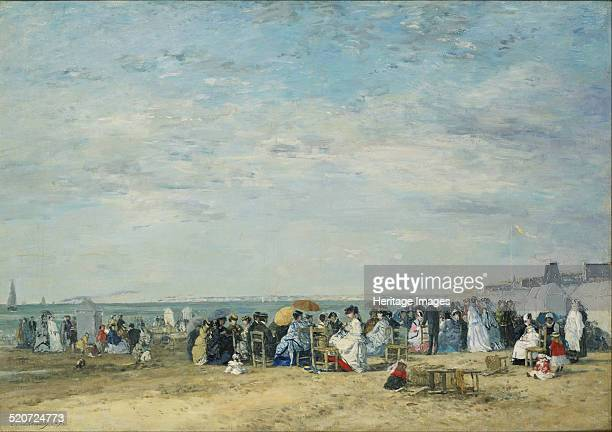 The Beach at Trouville Found in the collection of National Museum of Western Art Tokyo