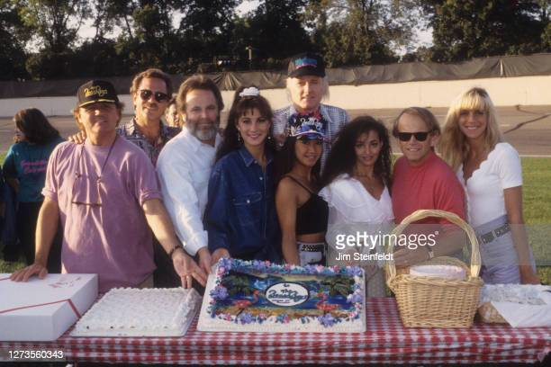 The Beach Boys and dancers on their 30th Anniversary tour at the Minnesota Stare Fair in St. Paul, Minnesota on September 6, 1992.