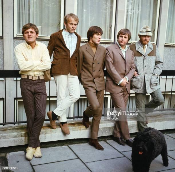 The Beach Boys. Bruce Johnston, Al Jardine, Dennis Wilson, Carl Wilson and Mike Love, 7th November 1966.