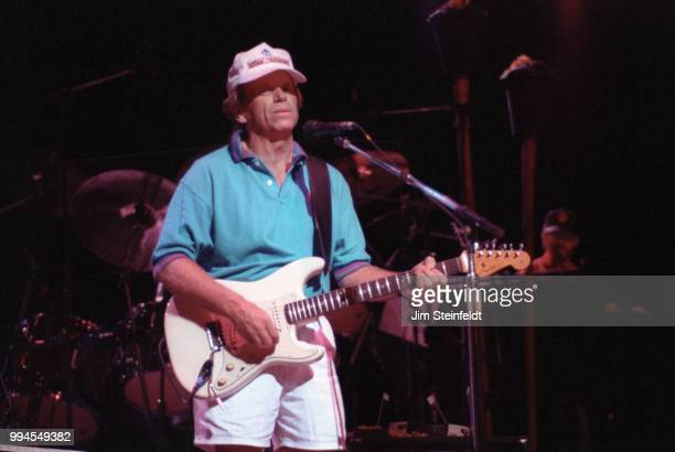 The Beach Boys perform on the Summer In Paradise Tour at the Minnesota State Fair in St Paul Minnesota on September 6 1992