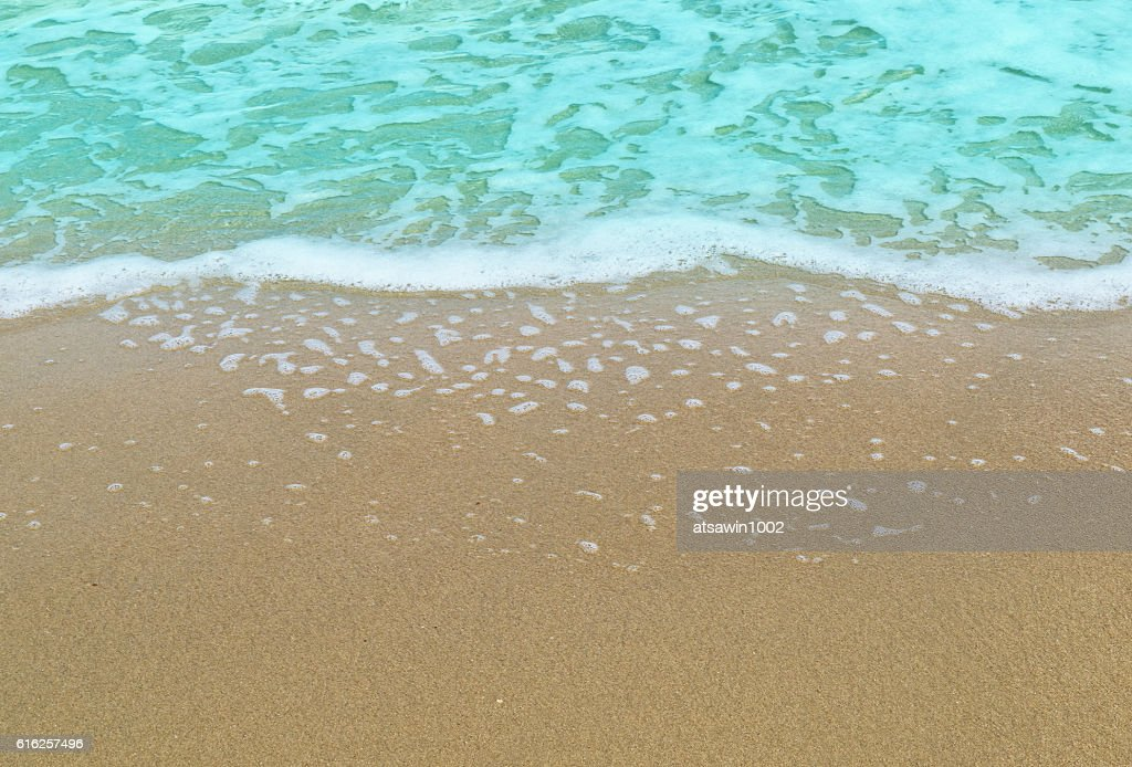The beach for background : Stock Photo