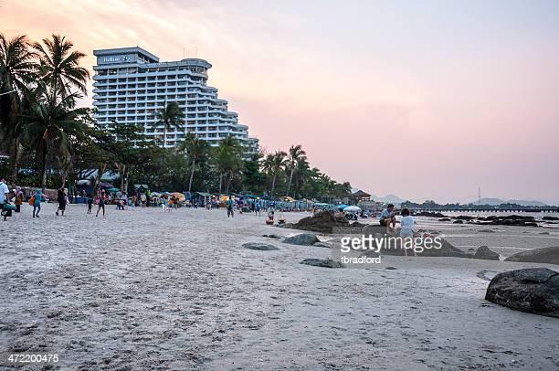 The Beach In Hua Hin, Thailand