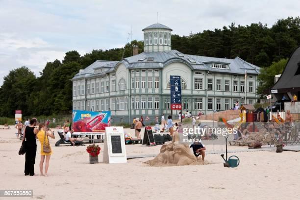 La plage de Majori.