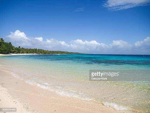 The beach in Marshall Islands