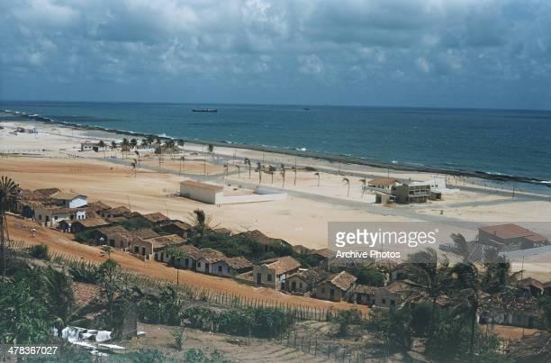 The beach in Natal Brazil circa 1960