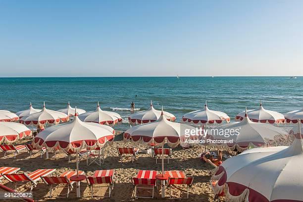 The beach of Castiglione della Pescaia