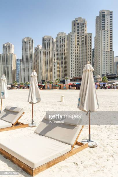 The beach of Dubai Marina (Jumeirah)