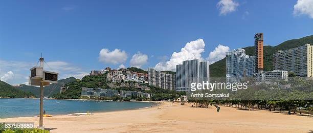 The beach of Repulse Bay, Hong Kong