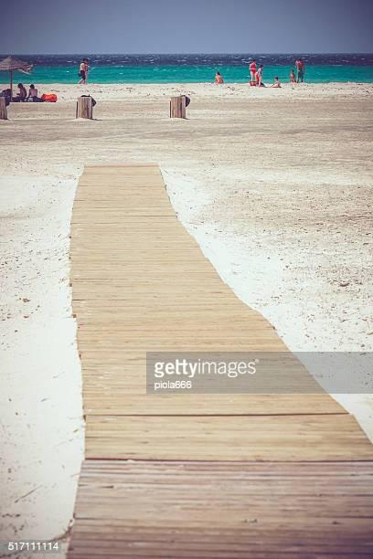 The beach of Tarifa, Spain