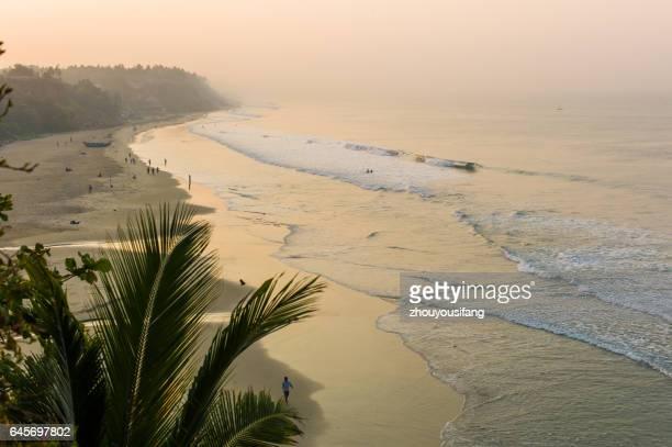 The Beach of Trivandrum' India