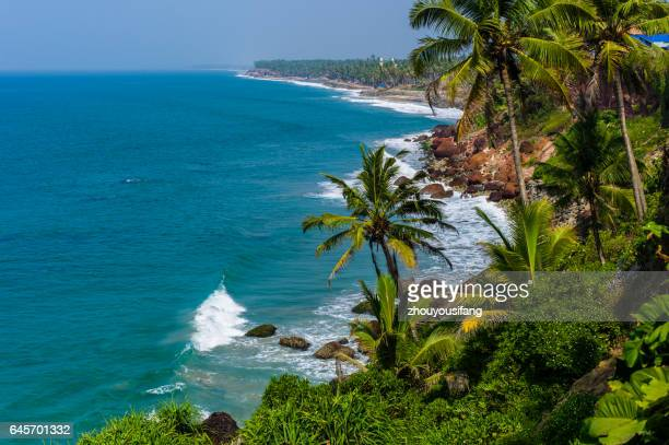 The Beach of Trivandrum' India