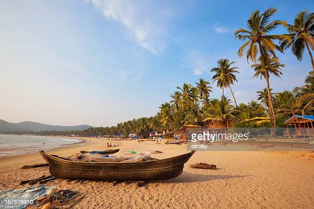 the beach - goa stock photos and pictures