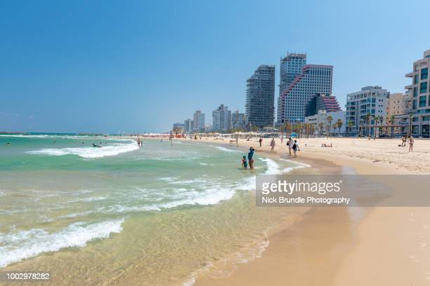The beach, Tel Aviv, Israel
