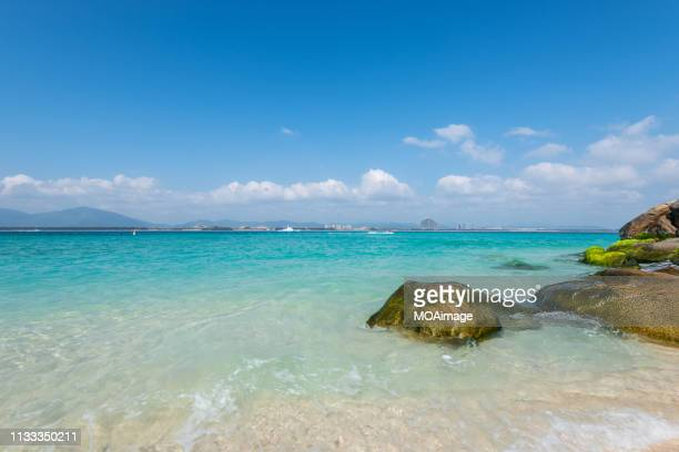 the beach,sanya,china - sanya stock pictures, royalty-free photos & images