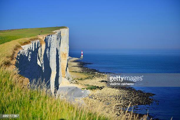 The Beachy Head cliff and English Channel
