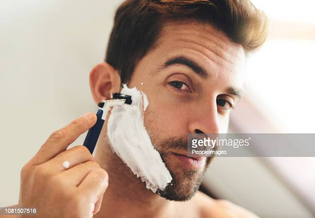the beard has to go - shaving stock pictures, royalty-free photos & images