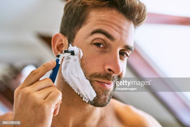 the beard has to go - razor stock photos and pictures