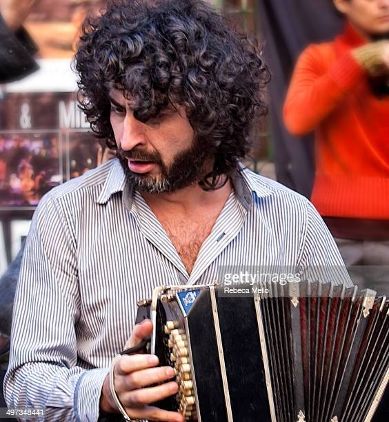 The bearded bandoneon player