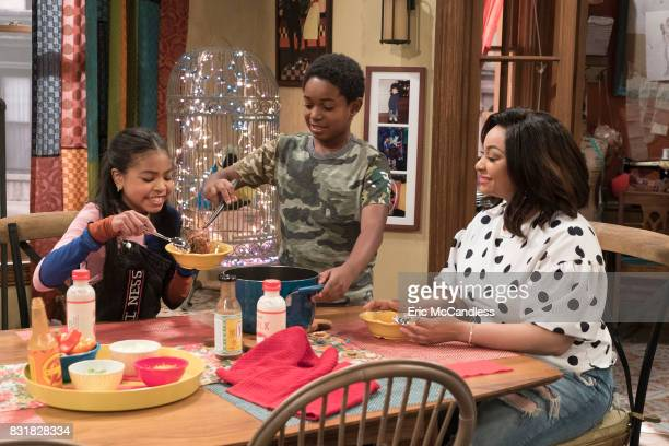S HOME The Bearer of Dad News When Raven has a vision of Booker and Nia being upset over their dad's move she goes overboard trying to do all of the...