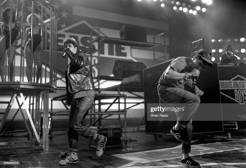 The Beastie Boys At The Brixton Academy In London In 1987 : News Photo